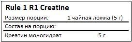 rule-1-r1-creatine-facts